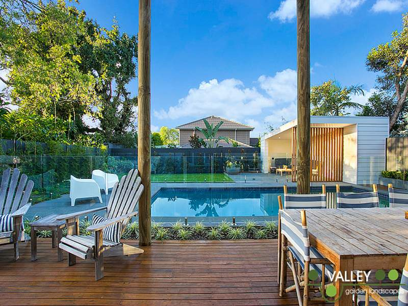 Backyard landscaping services sydney garden pool for Garden pool book