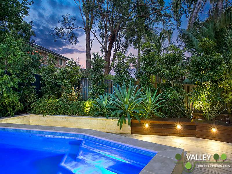 Pool and garden landscapes design landscaping services for Garden designs sydney