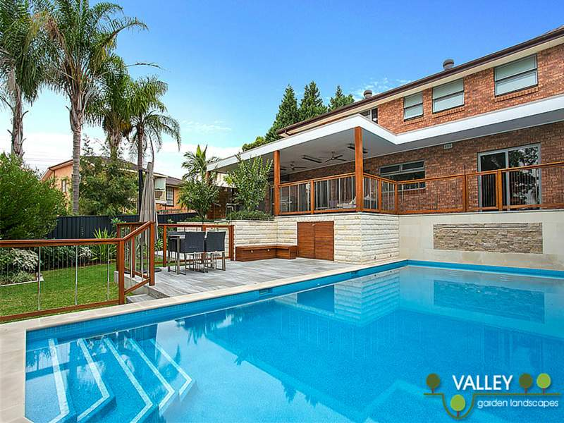 Pool and garden landscapes design landscaping services for Pool design sydney