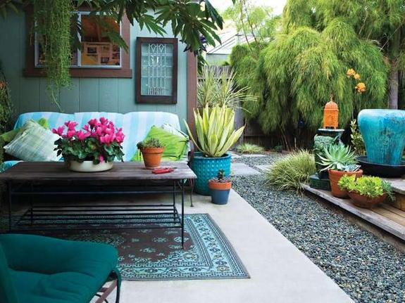 Affordable design, landscape decoration