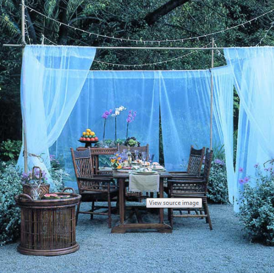 Use Fabric to Make Your Garden Fabulous