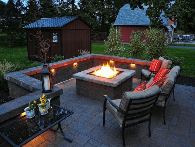Fire pits are becoming the norm