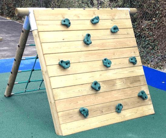 Create a climbing wall